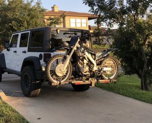 Dirt bike/ Motorcycle trailer hitch carrier for Sale in Austin, TX