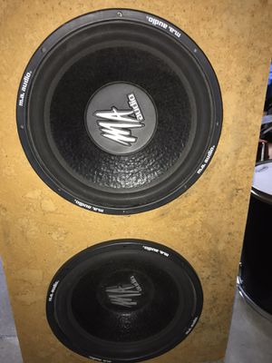 15 inch subs for Sale in Aurora, CO