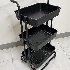 """New in box $35 each 3-Tier Rolling Utility Cart Mobile Storage Oranizer Home Office 17x14x34"""" for Sale in El Monte, CA"""