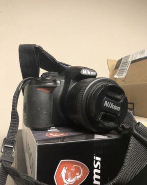 Nikon 3100 dslr camera for Sale in Beltsville, MD