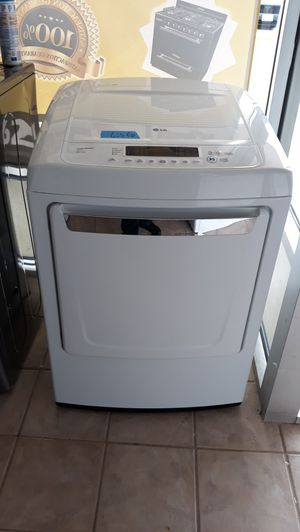 Lg white Electric dryer excellent condition for Sale in Maryland City, MD