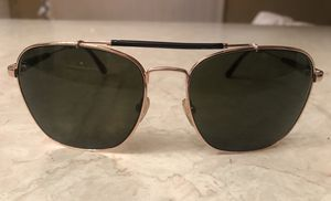 Tom Ford Edward TF377 men's Sunglasses Gold frame Black Green Lenses for Sale in Tempe, AZ