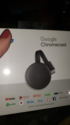 Brand new in box- google chromecast for Sale in Portland, OR