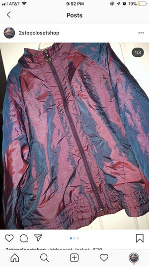 Reebok Iridescent Jacket for Sale in Raleigh, NC