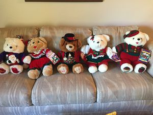 Christmas Stuffed Animal Bears for Sale in Spring Valley, CA