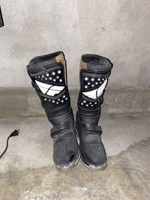 dirt bike boots for Sale in Fontana, CA
