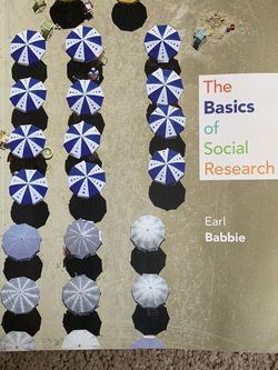 The Basics Of Social Research Earl Babbie Sixth Edition - Like New for Sale in San Diego,  CA