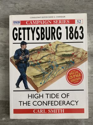 Campaign Series: Gettysburg 1863 book for Sale in Selma, CA