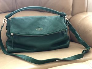 Kate Spade Cobble Hill Dark Green Leather Bag for Sale in Philadelphia, PA