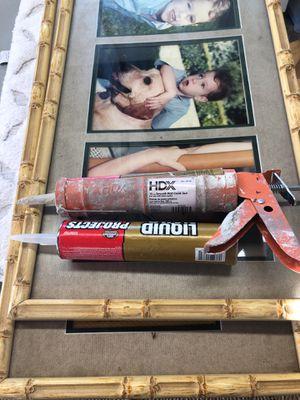 Caulk gun and liquid nails for Sale in Los Angeles, CA