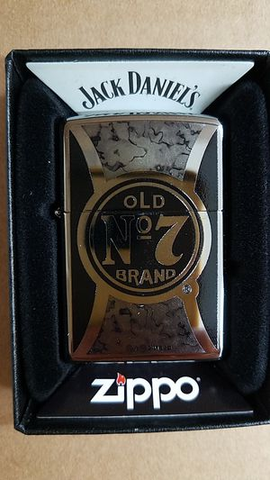 Zippo jack Daniel's high polished chrome 29233 for Sale in Los Angeles, CA