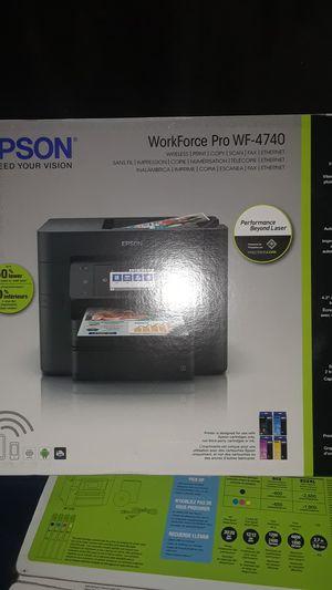 epson workforce pro wf 4740 for Sale in Houston, TX