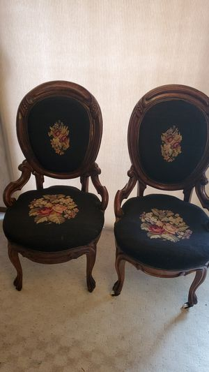 2 Antique Chairs. Can deliver for Sale in Federal Way, WA