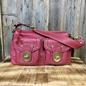 COACH F12868 Legacy Raspberry Leather Satchel for Sale in Pflugerville, TX