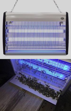 New in box 18 watts electric indoor outdoor insect mosquito fly 19x12x3 inch electric zapper for Sale in Santa Fe Springs, CA