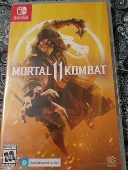 Nintendo Switch Mortal Kombat 11 for Sale in Bellflower,  CA