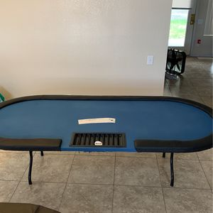 Casino Style Poker Table 8' for Sale in Fort McDowell, AZ