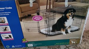 Folding Double Door Dog Crate for Sale in Miami, FL