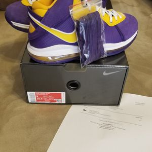 2020 Nike Air Zoom LeBron 8 Lakers Jordan retro Black Sport Royal 1 3 4 5 11 8 13 White Grey Jubilee volt Orange proto Shattered for Sale in Grayson, GA