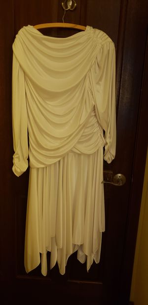 White evening gown/wedding dress/by David Rose for Sale in Chicago, IL