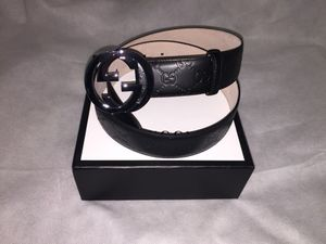 Gucci Guccissima Interlocking G Belt (Black) for Sale in Fort Washington, MD