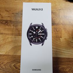 Brand New Unopened Samsung Galaxy Watch 3 45mm Black for Sale in Sunnyvale,  CA