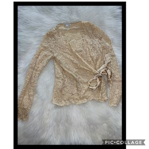 Lace blouse Banana Republic Medium for Sale in Garland, TX