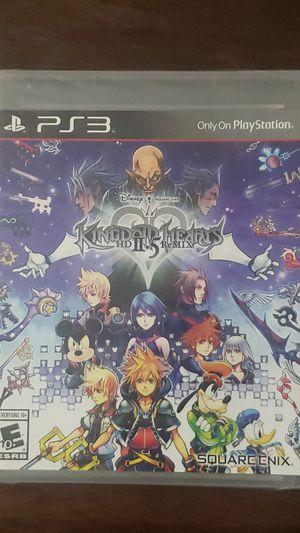 Kingdom Hearts HD II.5 Remix PS3 for Sale in San Marino, CA