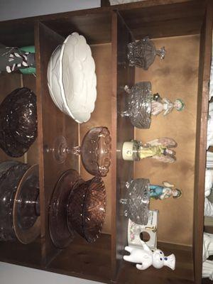 Crystal glass bowlsand more for Sale in Norfolk, VA