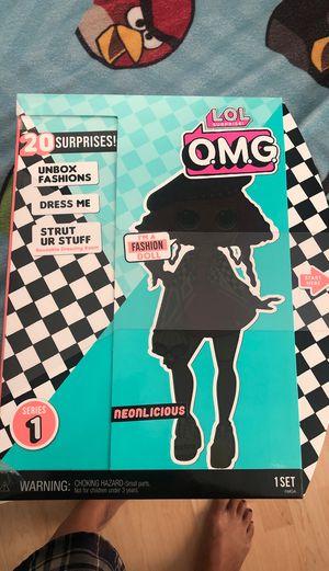 Lol Suprise omg fashion dolls NEONLICIOUS for Sale in Norwalk, CA