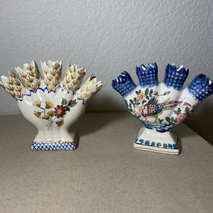 Ceramic Hand painted Portugal Vases for Sale in Colorado Springs, CO