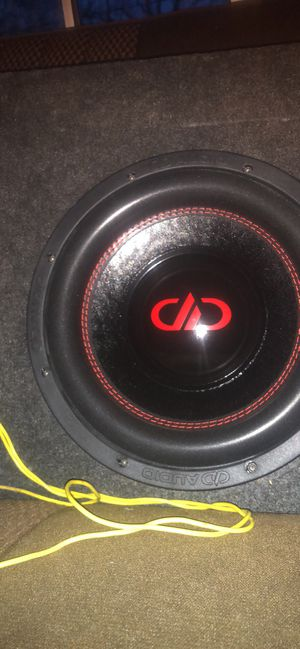 "10"" DD subwoofer with matching 600w amplifier for Sale in Wichita, KS"