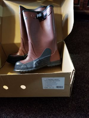 Lineman's boots size 12 for Sale in North Tonawanda, NY