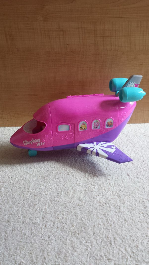Shopkins Shoppies Airplane. No accessories