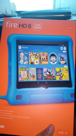 FIRE kindle HD 8 kids edition for Sale in San Marcos,  CA
