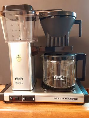 Technivorm Moccamaster like new. best pour over drip type coffee maker will last a lifetime for Sale in Lakewood, CA