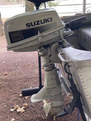 8 hp Outboard Motor-Price Reduced for Sale in Show Low, AZ