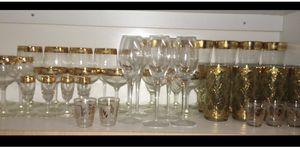1960's Antique glass set for Sale in Miami, FL