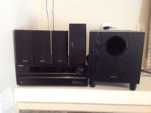 ONKYO - HT-S3500(B) 660 watt 5.1 Channel Home Theater Speaker/Receiver Package - Barely used. for Sale in Portland, OR