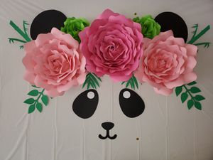 Paper flowers/Balloon Garlands for Sale in Powder Springs, GA