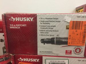 Husky 1/4 in. Ratchet Wrench 30 ft. lbs. air tool New for Sale in Mesa, AZ