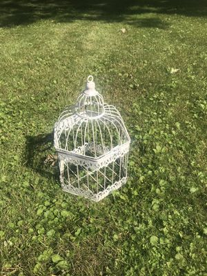 Small decorative birdcage for Sale in Pine River, MN