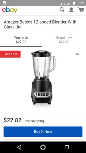 12 speed blender..new in box for Sale in Fairview Park, OH