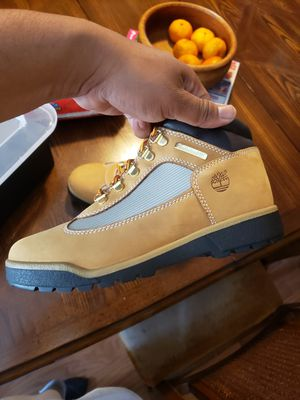 Timberland field boots size 7y for Sale in Temple, PA