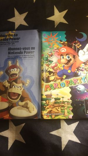 Mario Party 6 Manual Only (Gamecube) for Sale in Houston, TX