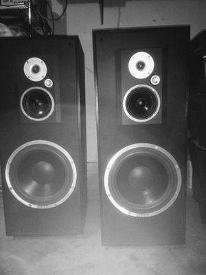 Vintage Infinity 36in speakers ms225 for Sale in Lancaster, TX