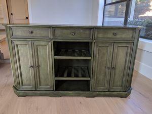 Ballard Designs media/dining console or buffet table w/ wine storage for Sale in Danville, CA