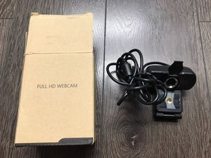 US / 1080P Full HD USB Webcam for PC Desktop & Laptop Web Camera with Microphone for Sale in Alhambra, CA