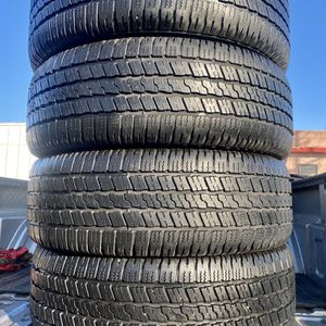 ✅ Four 275/60/20 inch tires ✅ 75% Life ✅ Very good condition ✅ Goodyear ✅ All season ✅ for Sale in Denver, CO