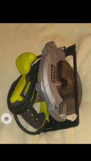 Ryobi Circular Saw w/laser precision cutting for Sale in Rainier, WA